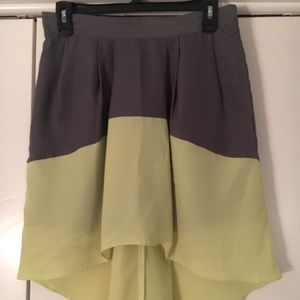 Hi-lo BCBGeneration Mini Skirt